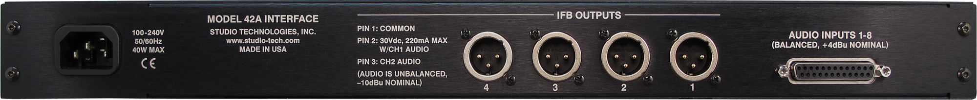 Model 42A Interface