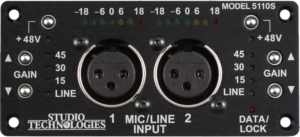 Model 5110 Mic/Line Input Module