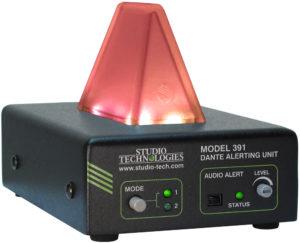 Model 391 Dante Alerting Unit
