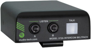 Model 372A Intercom Beltpack
